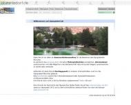Bild Webseite ODBG Olympiadorf-Betrieb Beteiligungsgesellschaft München