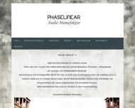 Bild Webseite PhaseLinear e. Kfm. Berlin