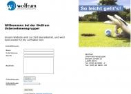 Bild Webseite Wolfram Bürokommunikation Berlin