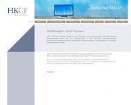 Bild Webseite Hegel Karbenn & Cie. Corporate Finance Köln