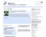 Bild Webseite  Husum