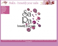 Bild Webseite SaRa - beautify your nails München