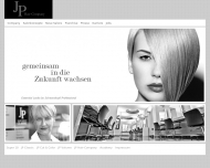 Bild Webseite J. P. Hair Trend Coiffeur Köln