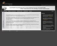Bild Webseite Artemis Rating Service München