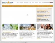 Bild Webseite Green City Energy Service München