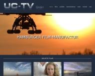 Bild Webseite UC-TV Hamburg