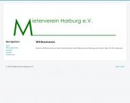 Bild Webseite Mieterverein Harburg Hamburg