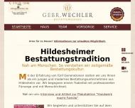 Bild Bestattungshaus Gebr. Wechler GmbH