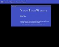 Bild Webseite Verband Sozialer Wettbewerb Berlin