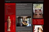 Bild Webseite Antura Health and Beauty München
