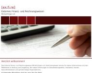Bild Webseite Externes Finanz- und Rechnungswesen Michael Krüger Hamburg