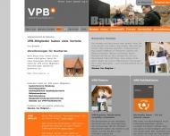 Bild Webseite Verband Privater Bauherren Berlin