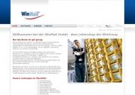 Bild Webseite WinMail Hamburg