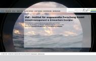 Bild Webseite IfaF Institut für angewandte Forschung Hamburg