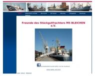 Bild Freunde des Stückgutfrachters MS BLEICHEN e.V.