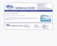 Bild Webseite abc Textilservice Hamburg