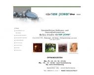 Bild Webseite New Power Line Berlin