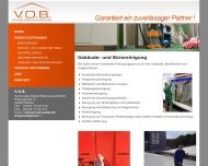 Bild Webseite Vereinigte Objekt Betreuung Wedel