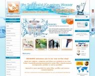 Bild Webseite Aquasafe Hamburg