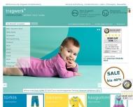 Bild Webseite tragwerk Kinderkleidung Verwaltungs München