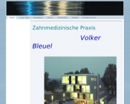 Website Volker Bleuel