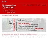 Bild Webseite Cityimmobilien-München München