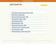 Bild GBW Gesellschaft für berufl. Aus- u. Weiterbildung mbH