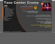 Website Crome Tanz Center