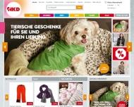 Bild Webseite NKD Nürnberg