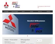Bild Fölster & Finck GmbH - Mitsubishi in Wandsbek