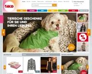 Bild Webseite NKD München