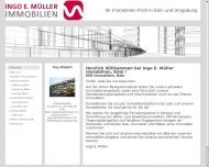 Website Ingo E. Müller Immobilien