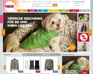 Bild Webseite NKD Kolbermoor