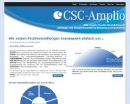 Bild Webseite CSC-Amplio Claudia Schefuß Consult Dresden