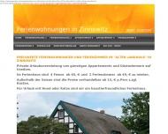 Bild Webseite  Zinnowitz