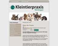 Website Kleintierpraxis Scherfling