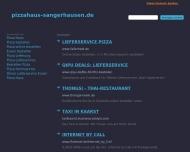 Pizza Haus Sangerhausen Huttenstr 44 Pizzaservice Und Bringservice