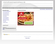 Bild Steinofenpizza Pizza Haus