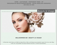 Website Beauty le Visage