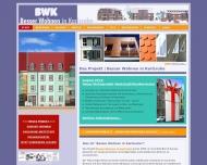 Website BWK Besser-Wohnen-in-Karlsruhe