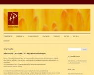 Bild Webseite Heilpraktikerin Wuppertal