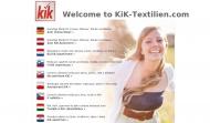 Bild Webseite KiK München