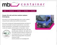 Bild MB Containerdienst und Entsorgung Bienefeld GmbH
