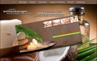 Website auszeit: Wellnessmassagen & Halawa