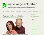 Bild Webseite  Tübingen