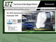 Website Sachverständigenbüro Katowski
