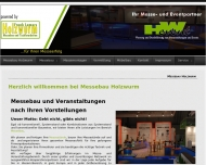 Bild Messebau Holzwurm/Hwevent