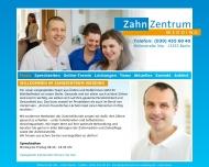 Website ZahnZentrumWedding