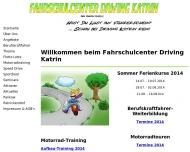 Bild Webseite Fahrschule, Fahrschulcenter Driving Katrin Berlin