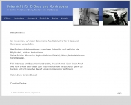 Bild Webseite Bassklang Berlin